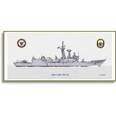 Uss Carr Ffg-52 Art Print By Ian Hall This ship print by Ian Hall is the perfect addition to your home, and also makes for a touching and thoughtful gift. Printed on ultra premium matte presentation paper, this beautiful art print is a faithful reproduction of the original pencil and digital U.S. Navy Ship Prints - C