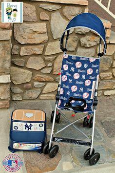 Yankees MLB Stroller #kolcraft #yankees #baby