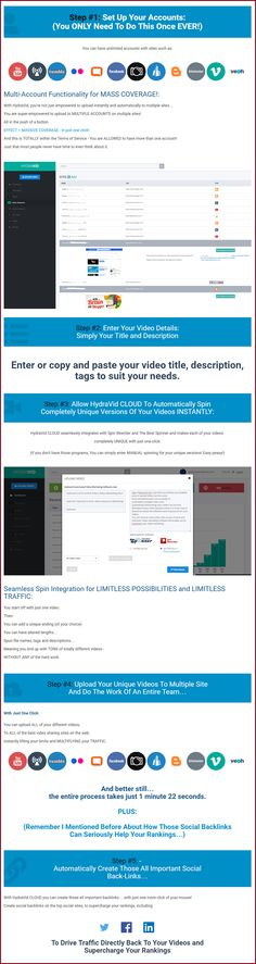 Hydravid Cloud Review+BEST BONUS+Discount- Get Multiple Page One Rankings For Your Videos Warrior Forum Classified Ads