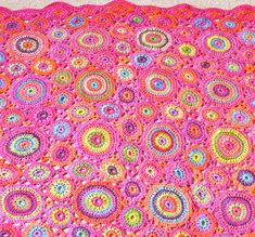 Ravelry: Kissing Circles & Kaffe Blankets pattern by Amanda Perkins
