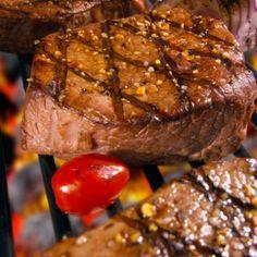 Grilled Honey Mustard Steak Recipe