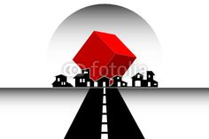 Houses Logo - Real Estate, Construction, Architecture company