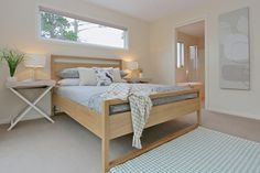 Master bedroom home styling in Hobart