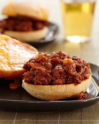 Barbecue Sloppy Joes | These sloppy joes are spiked with ketchup, barbecue sauce and cider vinegar.
