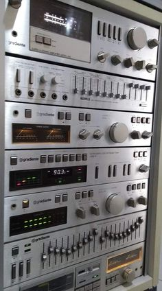 Audio Rack, Radios, Hi Fi System, Stereo Amplifier, Electronic, Music Images, Sound & Vision, Hifi Audio, Acoustic Panels