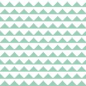 Mint Moroccan Triangles by mrshervi