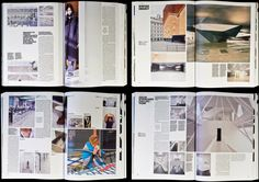 domus magazine layout - Google Search