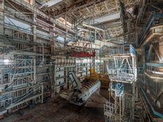 Russlands vergessene Raumgleiter: Buran-Orbiter im Winterschlaf