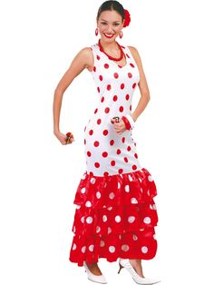 Ladies Mexican Spanish Around the World Fancy Dress Costume Outfit UK 10-12-14