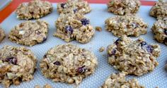 Skinny Cranberry Apple Oatmeal Cookies Recipe - 2 Points Plus Easy, healthy and delicious from the Weight Watchers New Complete Cookbook