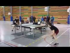 HEADIS – This is Soccer on A Tennis Table, #Sports, #Ball, #Headis, #Soccer, #Head, #Tennis, #Table, Table_Tennis, #Player, #Header