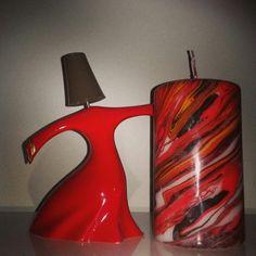 Semazen dancer marble candle