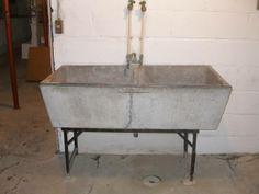 $100 Vintage Soapstone Utility Sink. I Love It!