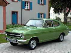 from Holland to Spain in 1976 in a green opel kadet