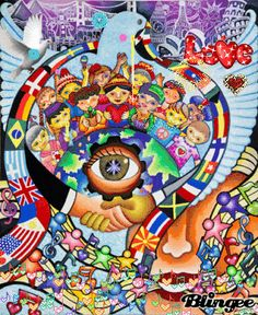 Each year, Lions clubs around the world proudly sponsor the Lions International Peace Poster Contest in local schools and youth groups. This art contest for kids encourages young people worldwide to express. Lions Clubs International, Peace Poster, Poster On, Peace On Earth, World Peace, Poster Competition, Unity In Diversity, Cultural Diversity, Dalian