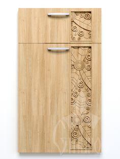 Фактура F-009 в оформлении мебельного фасада Fas-010 Woodworking Box, Woodworking Furniture, Simple Furniture, Furniture Design, Wooden Main Door Design, Cupboard Design, Hotel Decor, Kitchen Doors, Wood Interiors
