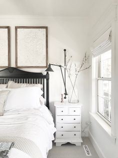 Beautiful chaos home tour modern farmhouse lighting, farmhouse light fixtures, farmhouse wall sconces, Farmhouse Wall Sconces, Farmhouse Light Fixtures, Interior Decorating Tips, Home Interior Design, Crazy Home, Modern Farmhouse Lighting, Home Decor Bedroom, Master Bedroom, Bedroom Ideas