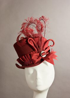 Simply stunning millinery! To go with my Victorian/Steampunk outfit