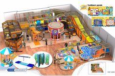 Cheer Amusement Pirate Themed Children Play Centre Indoor Soft Playground Equipment