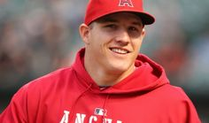 hes kinda one of the hotest guys, mike trout. Mike Trout, Baseball Players, Soccer Players, Albert Pujols, Fantasy Baseball, Angels Baseball, Baseball Pants, Baseball Stuff, The Outfield