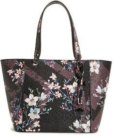 62faf5d5408b GUESS Kamryn Floral Tote Guess Handbags