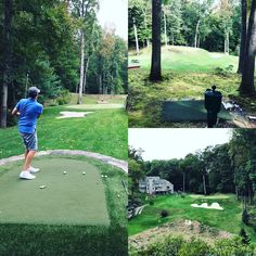 Justin Thomas' prescient goals, Jim Nantz' incredible backyard golf hole, and models playing golf in odd places - Golf Digest Flexibility Training Program, Backyard Putting Green, Justin Thomas, Golf Green, Masters Golf, Golf Photography, Best Golf Courses, Golf Lessons, Country