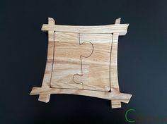 Dessous de plat Puzzle par precieuxcopeaux sur Etsy