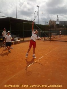International Tennis Summer Camp in Alicante. Language -Spanish or English- and Tennis Training camp organised in co-operation between Zadorspain language schools and one of the best Tennis Schools in Spain, Tennis Com, in Alicante.