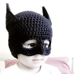 Gorro de Batman a Crochet