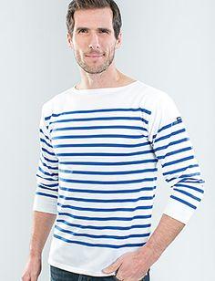 Tee Shirt marin (marinière). Brittany.  #France #french #stuff