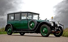 1924 lincoln limousine | 1924 Daimler 57 HP Enclosed Limousine By Hooper & Co