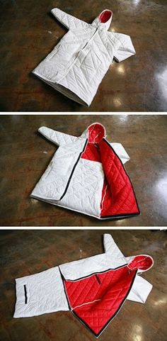 The Empowerment Plan - a coat for the homeless that converts into a sleeping bag.