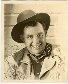 Andy Devine!!! ♥ forever in my head as Friar Tuck, but endeared so much more for all his wonderful western work! :D♥