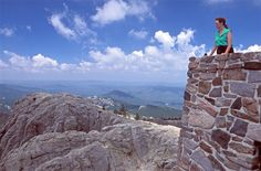 Harney Peak in South Dakota's Black Hills is the highest point in the U.S. east of the Rocky Mountains. Provides  a great hike for hikers.