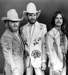 ZZ Top before growing out their beards (photo: Getty Images)