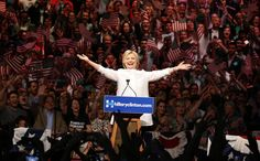 <p>Democratic U.S. presidential candidate Hillary Clinton arrives to speak during her California primary night rally, held in the Brooklyn borough of New York, on June 7, 2016. (Photo: Lucas Jackson/Reuters) </p>