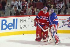 """Carey Price vs. Henrik Lundqvist has been the most obvious- -- and critical -- story line since this matchup came into focus weeks ago. It is The Showdown that didn't occur in 2014. """"Pretty good is not going to be good enough,"""" said Lundqvist who has been on the wrong side in seven of the last eight regular-season duels with Price. """"I think for me and everyone in this room, we need to raise our level to our absolute best to have a chance to beat this team.""""Price, who won the Vezina Trophy…"""