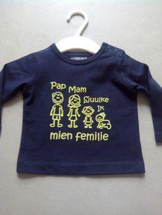 Shirt met tekst in venloos