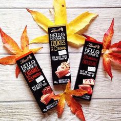Who else is FALL(ing) in love with Lindt HELLO this season? #lindtlove #fall #lindtchocolate