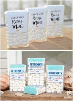 Send your party goers home with Retire-Mints! More unique Retirement Party Ideas on Frugal Coupon Living.