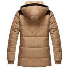 Men's Winter Thick Parka, Warm And Hooded – zorket Parka, Hoods, Winter Jackets, Style, Fashion, Winter Coats, Swag, Moda, Cowls