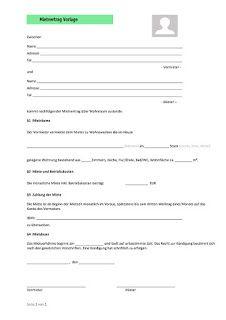 Mietvertrag Vorlage 5 Financial Instrument Telephone Banking Government Bonds