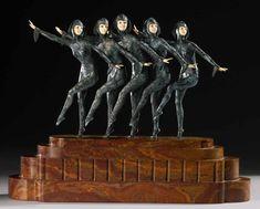 Румынский скульптор эпохи Ар-деко Demetre H. Chiparus (1886-1947) - Редкие заметы немолодого идеалиста