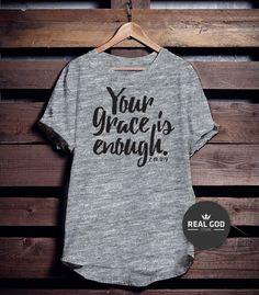 Camiseta Grace!  Peça agora mesmo!!!  Whats (11)99222-2650 E-mail: contato@realgod.com.br  Siga: facebook.com/realgodstore instagram.com/realgodstore