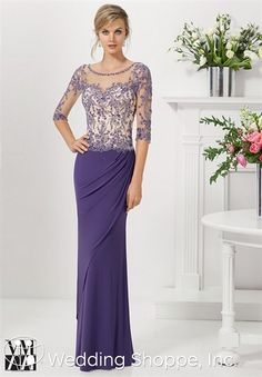 VM by Mori Lee Mother of the Bride Dresses 71127