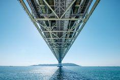 Akashi Kaikyo Bridge by SUPERIDOL