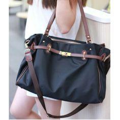 Fashion Navy Platinum Canvas Handbag&Shoulder Bag for only $29.99 ,cheap Fashion Handbags - Fashion Bags online shopping, Fashion Navy Platinum Canvas Handbag&Shoulder Bag
