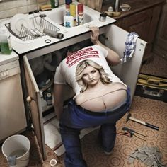 Fashionable Plumbers crack...:)
