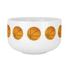 Basketball Sport Design Soup Mug