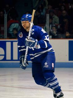 Wendel Clark - Toronto Maple Leafs -  a salute to those players who gave it their all, he was one of the best!